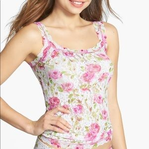 Hanky Panky Vintage Rose Camisole Lace Tank MED